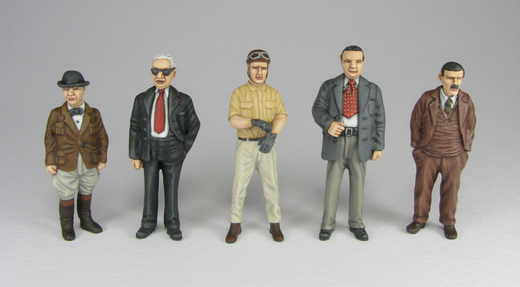 Car Racing Figures