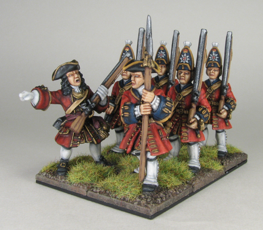 WSS 1st guards grenadiers and officer