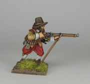 Musketeer firing 1